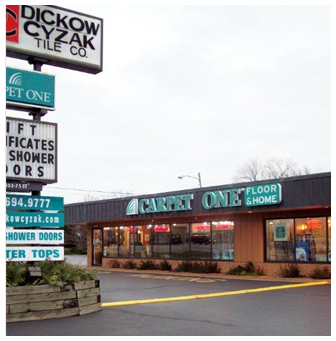 Dickow Cyzak Tile Co - Kenosha Store - serving Wisconsin & Illinois
